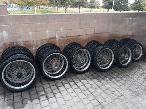 1997-01 Honda CR250R Wheels, Huge Lot for Sale in Rancho Cucamonga, CA