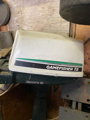 7 1/2 horse boat motor. 400.00 for Sale in Evansville, IN