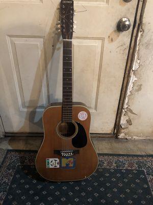 Vintage 12string Crestwood acoustic guitar for Sale in Columbus, OH