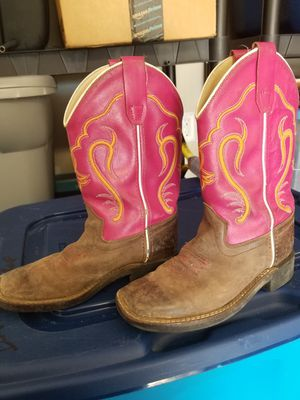 Girls old west boots size 010 (1) for Sale in McKinney, TX