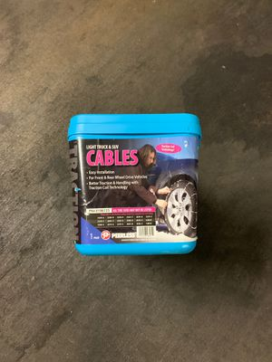 NEW NEVER USED SNOW CHAINS. For tires for Sale in Los Angeles, CA