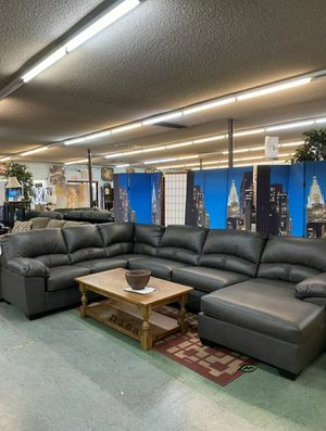 ➡️$39 Down 🍺No İNTEREST      Aberton Gray LAF Sectional 137 for Sale in Elkridge, MD