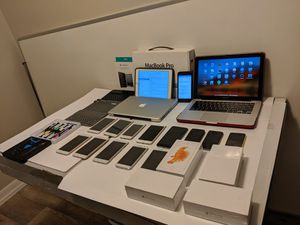 Apple iPhone, MacBook, iPad, and Samsung Wholesale Lot! BEST OFFER, READ Description for Sale in St. Petersburg, FL
