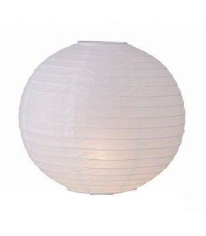 """Wholesale Lot 24 Pack - Party Paper Lantern-Round 12""""-Luau Supplies- Oriental/Chinese Lamps - White for Sale in Kissimmee, FL"""