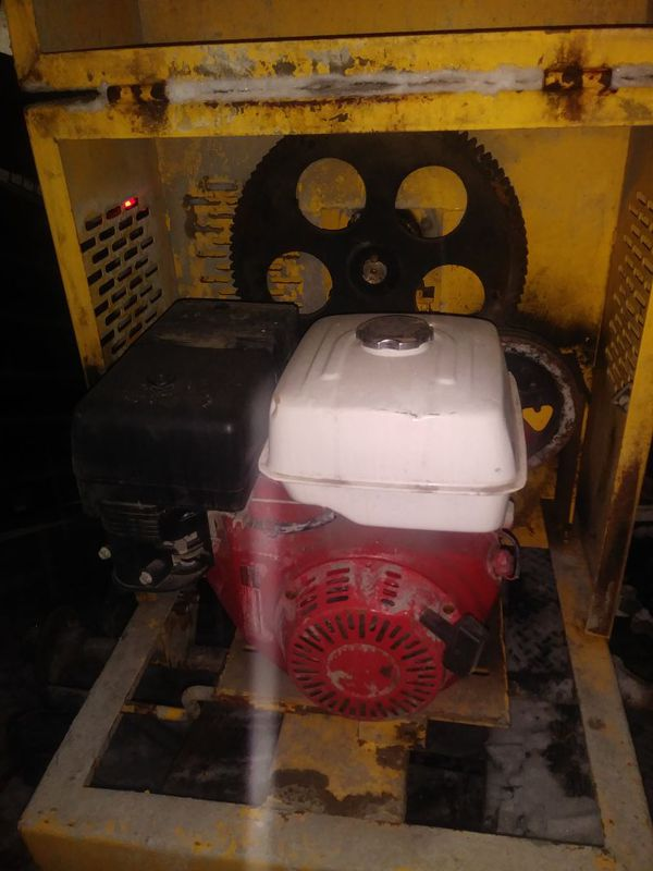 Stow concrete mixer   it's works very good and has a honda 340 engine on  it    for Sale in Queens, NY - OfferUp