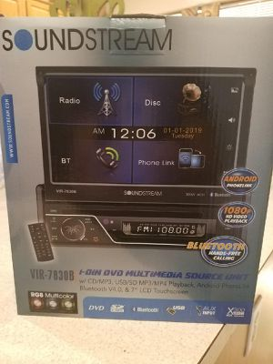 NEW!!! Soundstream Flip out DVD Stereo for Sale in Phoenix, AZ