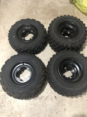 Quad tires - Like New!! for Sale in Damascus, OR