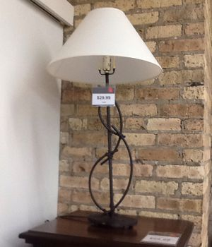 Table lamp with shade for Sale in Chicago, IL