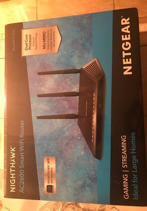 NETGEAR NIGHTHAWK AC2600 Smart WIFI Router for Sale in Los Angeles, CA