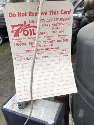 Oil boiler water heater for Sale in Evesham Township, NJ