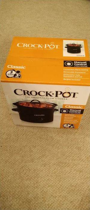 New Crock Pot Slow Cooker 3QT round for Sale in San Dimas, CA