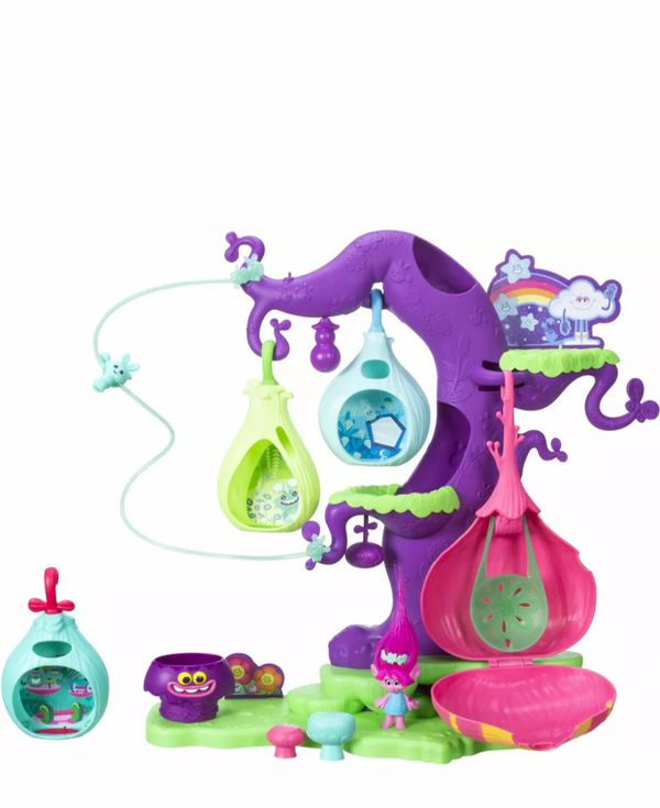Trolls Pod'ular troll tree activity toy