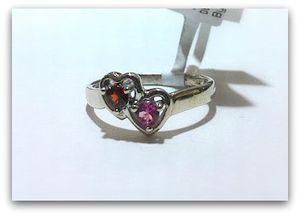 Beautiful Double Heart Ring for Sale in San Diego, CA