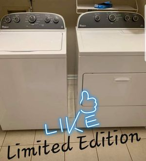 🎈Like NEW🎈 Limited Edition 🎁Whirlpool 👉Huge Capacity💧Washer ♨️Dryer for Sale in Portsmouth, VA