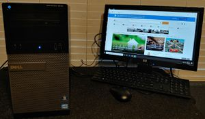 Completely PC. Dell Optlx. Quad-Core 🖥 . 3.2 Ghz./ 8.0 Gb./ 250 Gb./ 💿 Windows 10.Pro USB Wi-Fi📶 WORK-FAST.. for Sale in Surprise, AZ