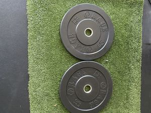 Pair of 10lb Olympic Bumper Plates for Sale in San Francisco, CA