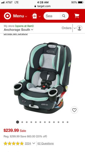 Graco 4 in 1 Car Seat for Sale in Milwaukie, OR