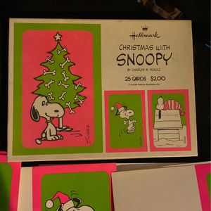 16 Snoopy Christmas Cards for Sale in Fontana, CA