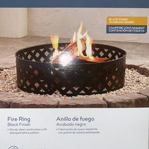 Round Fire Ring for Sale in Fort Meade, FL