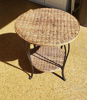 Round End Table for Sale in Scottsdale, AZ