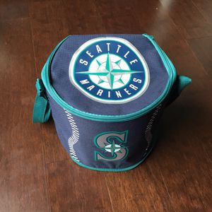 NWOT Seattle Mariners Zip Around 'Lunch Box Cooler' With Strap for Sale in Seattle, WA