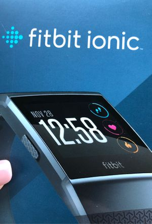 Fitbit ionic - will ship if needed for Sale in San Antonio, TX