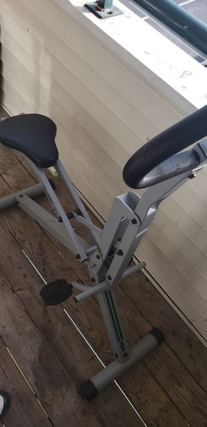 Fold up trim Rider exercise bike for Sale in Portsmouth, VA