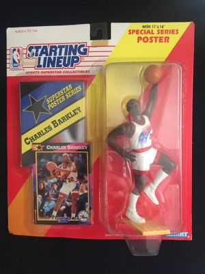 Action Figure Starting LineUp Charles Barkley for Sale in San Diego, CA