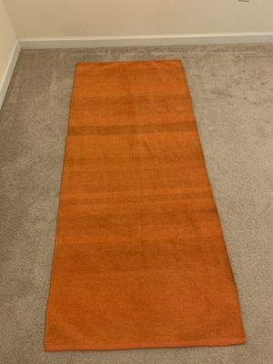 Neet Yoga Works - Washable Cotton Yoga Mat - Natural and Non-Toxic for Sale in Cumming, GA