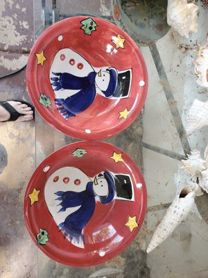 2 Christmas plates for Sale in Phoenix, AZ
