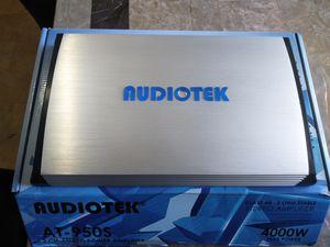 4000 Watt amplifier new still in the box for Sale in Imperial Beach, CA
