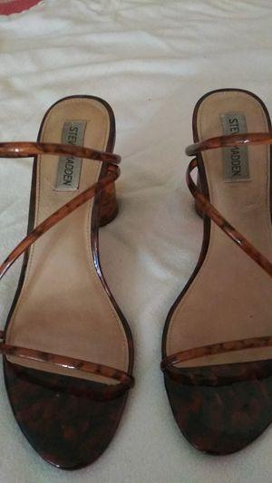 Steve Madden sandals with heel for Sale in El Monte, CA