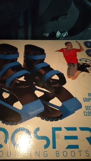 Youth boys bouncy booster boots for Sale in Fresno, CA