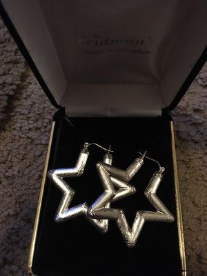 Brand New .925 Sterling Sliver Star ⭐️ Earrings for Sale in Detroit, MI