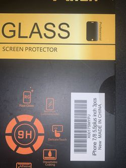 iPhone 7 Plus Or 8 Plus Screen Protectors for Sale in Riverside,  CA