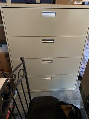 Industrial 4 Drawer Filing Cabinet for Sale in Virginia Beach, VA