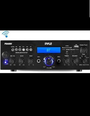 Pyle 200W Bluetooth LCD Home Stereo Amplifier Receiver with Remote & FM Antenna for Sale in Fort Worth, TX