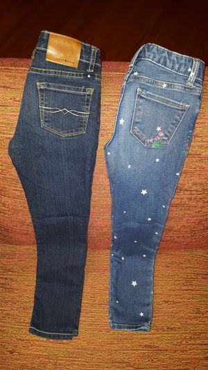 Lot of 2 Girl's Jeans for Sale in Dallas, TX