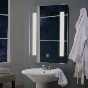 27.5 LED Bathroom Makeup Wall-mounted Mirror for Sale in Wildomar, CA