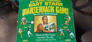 Bart starr QB football game for Sale in Royal Oak, MI
