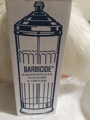 Nail Supplies,barbicide disinfecting jar for Sale in Paramount, CA
