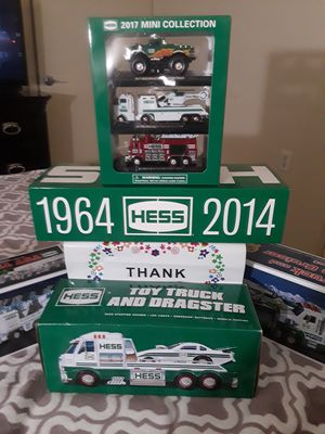 Hess toy truck collection for Sale in Boston, MA