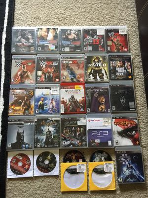 Huge PS3 Video Game Lot! for Sale in Pittsburgh, PA