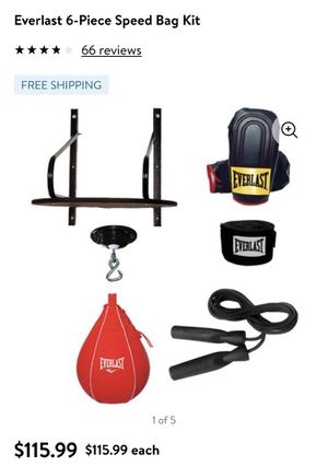Everlast speed bag kit. Includes everything pictured. for Sale in Carson, CA