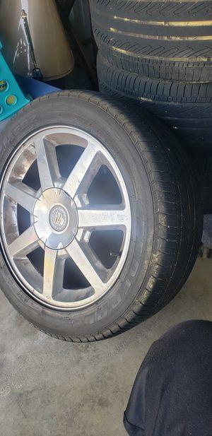 Cadillac 17inch rims for Sale in Richmond, VA