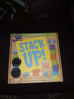 Brand new sealed in box stack up game for kids. for Sale in Hazelwood, MO