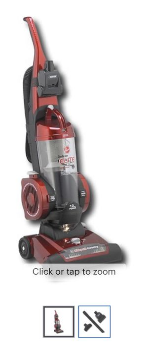 Powerful Vacuum Cleaner Hoover - Elite Rewind Bagless Upright Vacuum - Ferrari Red Metallic for Sale in Miami, FL