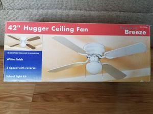 "42"" Hugger Ceiling Fan (2 boxes, $20 each) for Sale in Virginia Beach, VA"