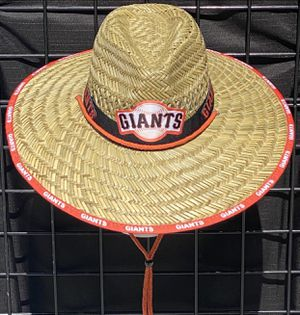 San Francisco Giants straw hat just N time 4 the summer heat (I also have other teams) for Sale in Sacramento, CA