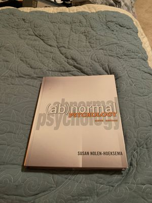 Abnormal Psychology: Sixth Edition for Sale in Chino Hills, CA